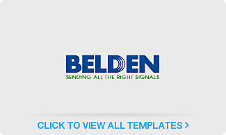 Belden Label Templates
