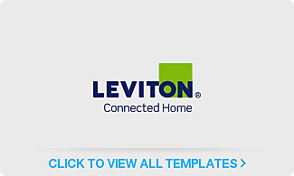 Leviton<sup>®</sup> Connected Home Label Templates