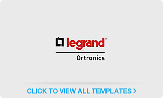 Legrand<sup>®</sup> Ortronics Label Templates