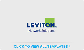 Leviton<sup>®</sup> Network Solutions Label Templates